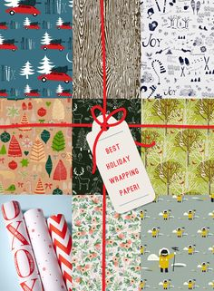 Best Holiday Wrapping Paper | http://www.octoberink.com/blog/