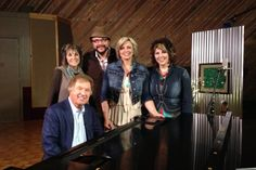 The Isaacs In The Studio | Gaither Music