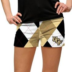 Womens Made-To-Order Mini Shorts by Loudmouth Golf - UCF Knights.  Buy it @ ReadyGolf.com