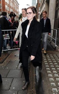 Emma Watson Photos: Emma Watson Makes the Rounds in London 2