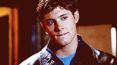 [gif] Young Jensen, not sure what it's from, but who cares?!.....almost didn't recognize him. the eyes remind you who it is though