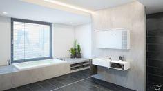 Finde minimalistische Badezimmer Designs: Banovo-Badezimmer-Stil MANHATTAN. Entdecke die schönsten Bilder zur Inspiration für die Gestaltung deines Traumhauses.
