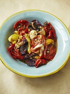 Roast Vegetable Salad | Vegetable Recipes | Jamie Oliver