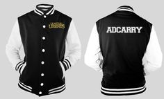 League of Legends ADCARRY varsity jacket by linkitty on Etsy