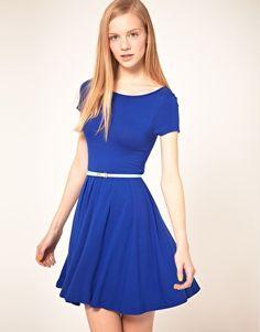 Royal blue dress ASOS $34.99