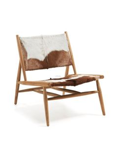 Ike Armchair in Teak Wood