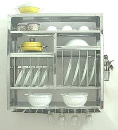Welcome to the world\u0027s Greatest plate rack dish drying rack kitchen rack wall shelves \u0026 shelf rack. Stainless steel simple and full of utility.  sc 1 st  Pinterest & 2 Tiers Stainless Steel Kitchen Dish Drying RackStainless Steel ...