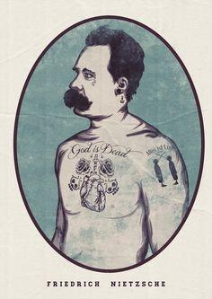 Nietzsche via xdelusionsofgrandeurx