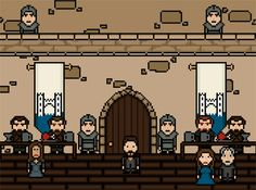 "The Red Wedding. | ""Game Of Thrones""' 14 Most Brutal Deaths, As 8-Bit GIFs"