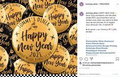 Nouvelle année Réveillon Tommy's Diner Personalized Items, Bonheur