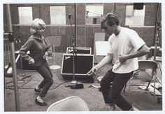 """Dennis Wilson doing the """"Surfer's Stomp"""""""