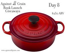 Le Creuset - hope i win since i already have an obsession with this company, almost as bad as some girls purse obsessions!