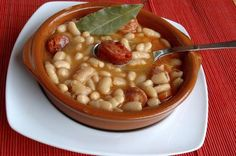 Nothing says comfort like a bean and sausage stew: White Bean and Chorizo Stew