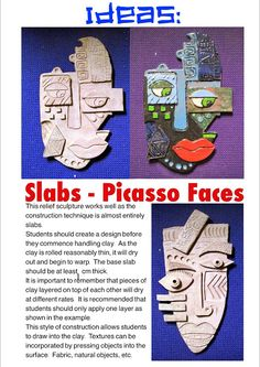 Art Therapy Projects, Clay Art Projects, Middle School Art Projects, High School Art, Sculpture Lessons, Jr Art, Art Lessons Elementary, Elements Of Art, Art Classroom