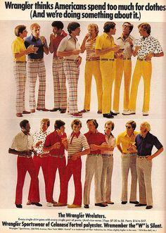 Wrangler ad, 1974
