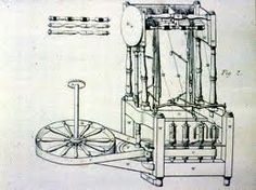 The Water Frame was invented by Richard Arkwright in 1769. It was basically a spinning jenny that was powered by water.