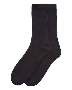 HJ Hall Diabetic Socks From HJ Hall, these cotton-rich socks are specifically designed for those with diabetes. These extremely comfortable half-calf socks are constructed with expressly loose knitting tensions, used to cre http://www.MightGet.com/january-2017-13/hj-hall-diabetic-socks.asp