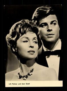 "Lilli Palmer and Jean Sorel in the Film ""Julia, you are magic"" Clark Gable, Cary Grant, Jean Sorel, Lilli Palmer, Francis Ford Coppola, Hollywood, World Star, Famous Women, The Magicians"