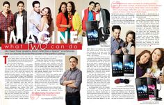 Sony Xperia Phones - Sunday Inquirer Magazine advertorial - December 2012