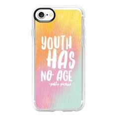 Rainbow Youth - iPhone 7 Case And Cover ($40) ❤ liked on Polyvore featuring accessories, tech accessories and iphone case