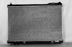 Radiator Assembly Fits Infiniti 03-08 FX45 4.5L V8 4494CC 4500CC IN3010116 CU2671 Csf 2980 Nissan 21460-CM81B IN3010116, aluminum