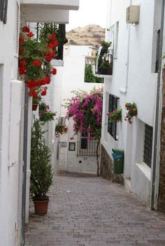 Mojacar Pueblo, Almeria, Spain -  This is my place, these are my streets, my sun, my people