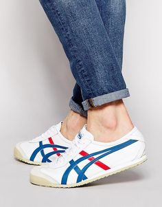 buymadesimple.com: Onitsuka Tiger Mexico 66 Leather Trainers - White