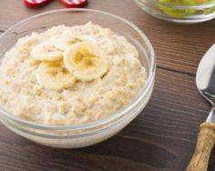 Porridge à la banane : http://www.fourchette-et-bikini.fr/recettes/recettes-minceur/porridge-la-banane.html