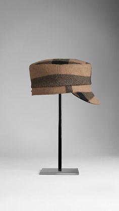 Check Peaked Cap | Burberry