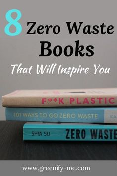 Looking for some zero waste books that will inspire you? Here are eight zero waste books perfect for beginners and veterans alike - each will teach you something new. If you're looking for a new read, give one of these a go.