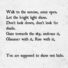 Sunrise #poetry #love #motivation #quotes