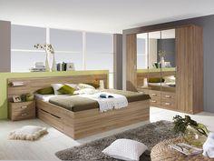 Rauch PACK`S Schlafzimmer Set, Mit Kleiderschrank (4 Tlg.)