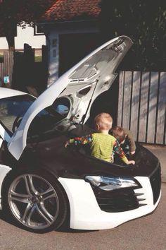 Audi A8 Playground