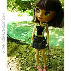 Caty basaak doll en Urederra Navarra
