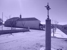 Ermita de Nuestra Señora de los Remedios , desde crucero del Viacrucis