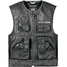 Ministry of Bikes - Icon OneThousand Associate Vest, £349.99 (http://www.ministryofbikes.co.uk/mens-clothing/leather-jackets/icon-onethousand-associate-vest.html/)