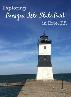 Exploring Presque Isle State Park in Erie, PA-- one of the best places for birdwatching in the United States and fun for everyone with kayaking, biking, boating and even segway tours! #presqueisle