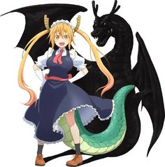 Anime: Kobayashi-san Chi no Maid Dragon Slated for Winter Season! - Random Ramen