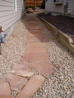 behind outdoor kitchen Driveway Ideas, Eden Project, Stamped Concrete, Backyard, Patio, Retaining Walls, Flagstone, Walkways, Yard Ideas