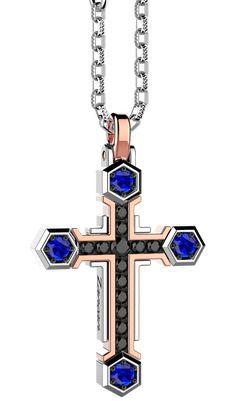 Cross Pendant, Crosses, Silver Jewelry, Gold, Ice, Couture, Fashion, Silver, Moda