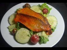 Ensalada con pescado al horno