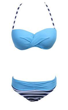 New Sexy Women Bandage Bikini Sets High Quality Push-up Padded Bra Halter Swimsuit Bikini Bathing Suit Swimwear
