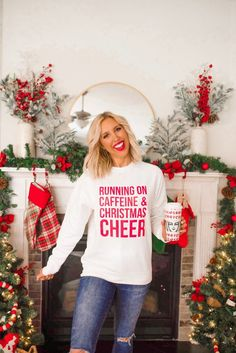 Julianna Claire x Inspired Boutique Holiday Collection - Blush & Camo   Christmas tee | holiday style | casual holiday style | boutique style