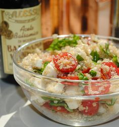 Fresh Caprese Quinoa Salad