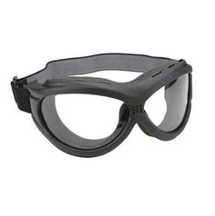 The Beast Black Goggles With Anti Fog Clear Polycarbonate Lens With UV 400 Protection