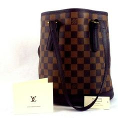 Louis Vuitton Maruais Damier Bucket Brown Bag - Satchel $545