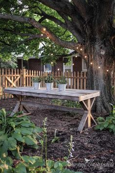 Pallet Table | DIY Wood Projects For Patios | DIY Projects