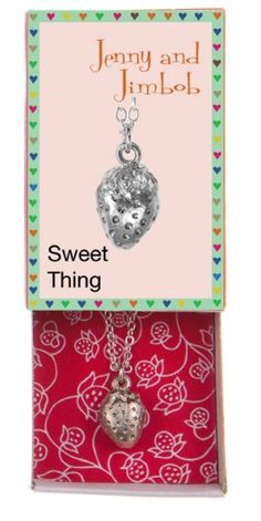 Sweet Thing - Strawberry necklace