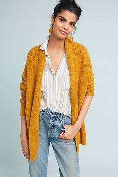 222c63553607 DuPont Cardigan | Anthropologie Gold Fashion, Cute Fashion, Boho Fashion  Fall, Daily Fashion