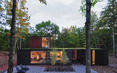 """Casas de sonho: A mansão """"camaleão"""" que se camufla na floresta — idealista/news"""